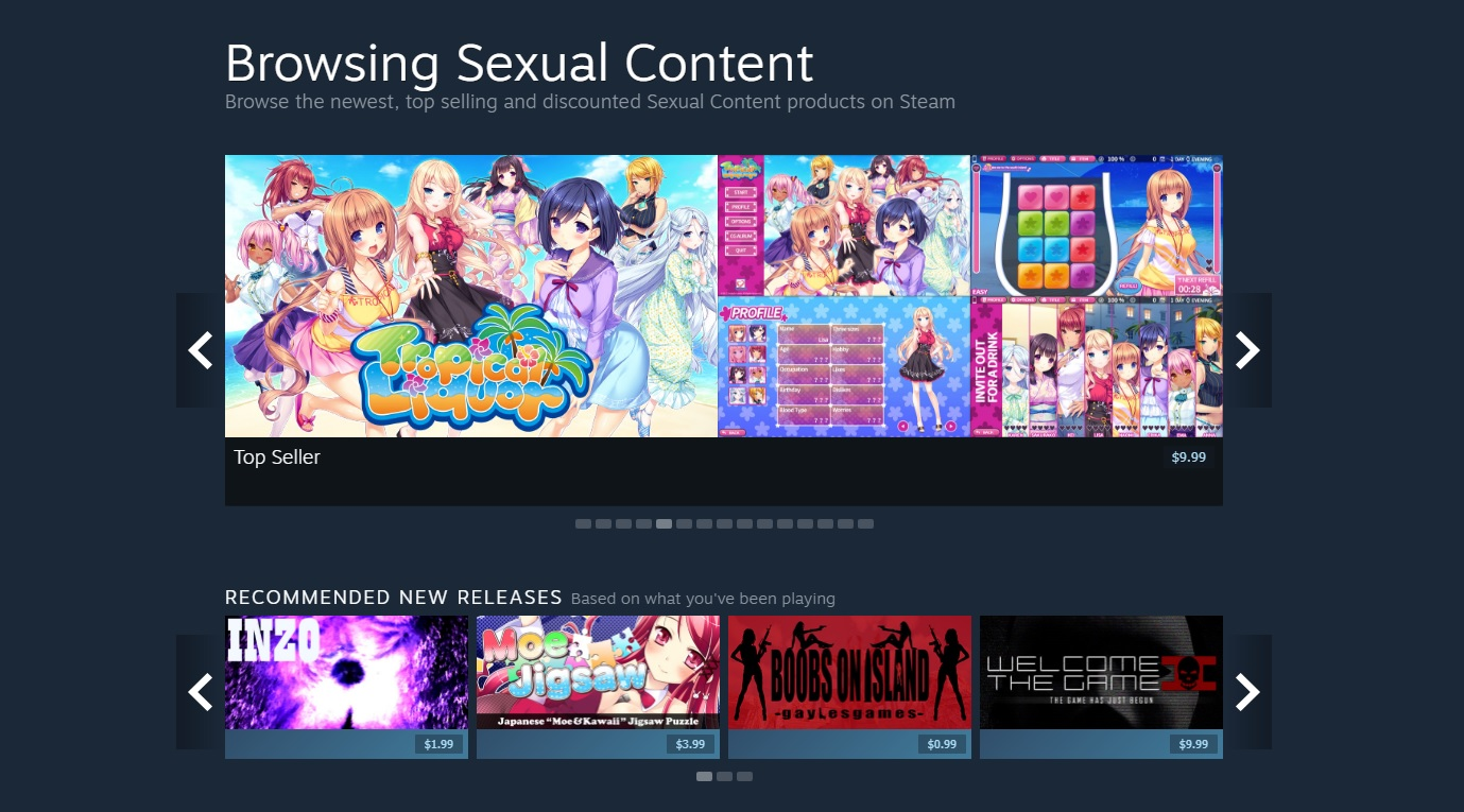 (Update) Valve is suddenly targeting adult visual novels for removal from Steam screenshot