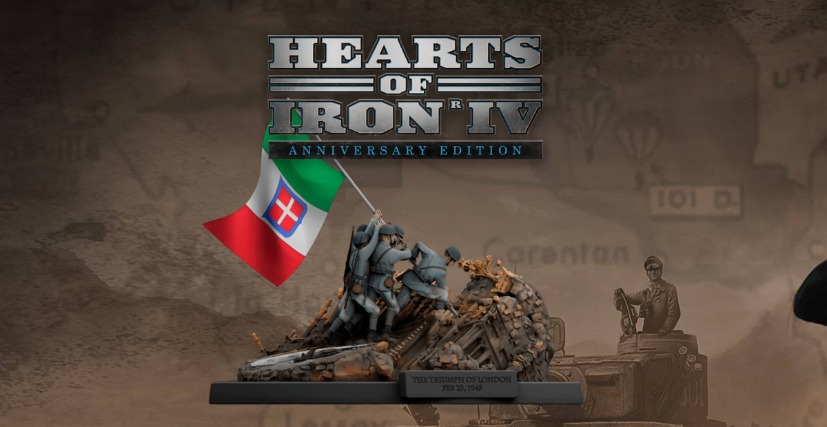 Hearts of Iron IV celebrates one million sales with Anniversary Edition and new expansion screenshot