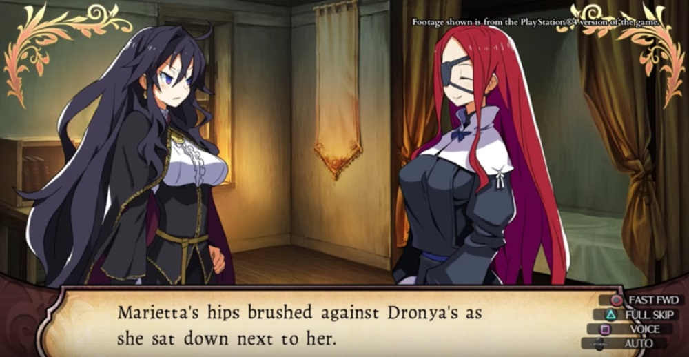 Labyrinth of Refrain: Coven of Dusk gets awkward trailer screenshot