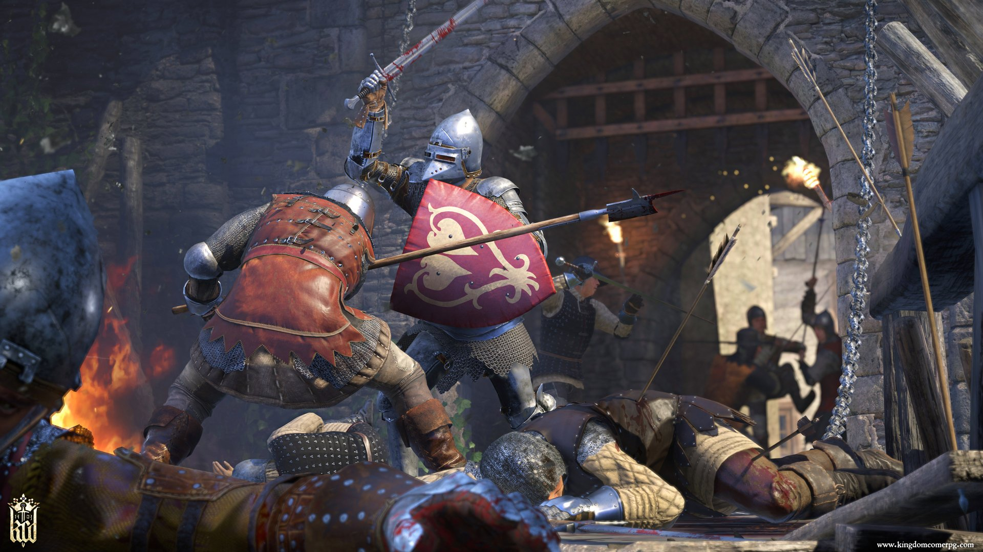The Witcher author was a 'huge influence' for Kingdom Come: Deliverance screenshot