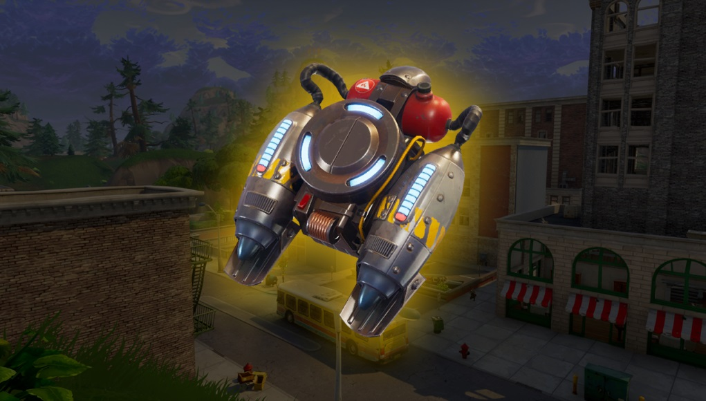Fortnite is finally getting some limited time jetpacks screenshot