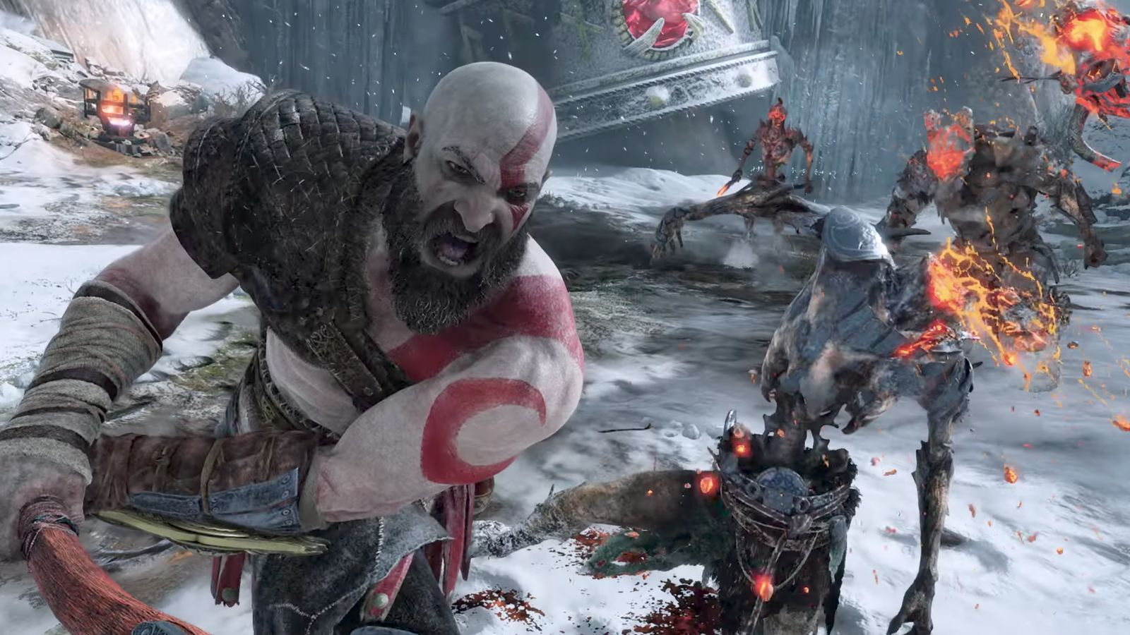 God of War was the best selling game of April screenshot