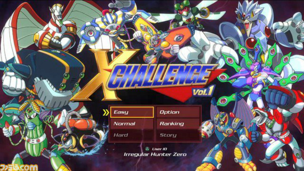 As it turns out Mega Man X Legacy Collection 1+2 will have a new story mode screenshot