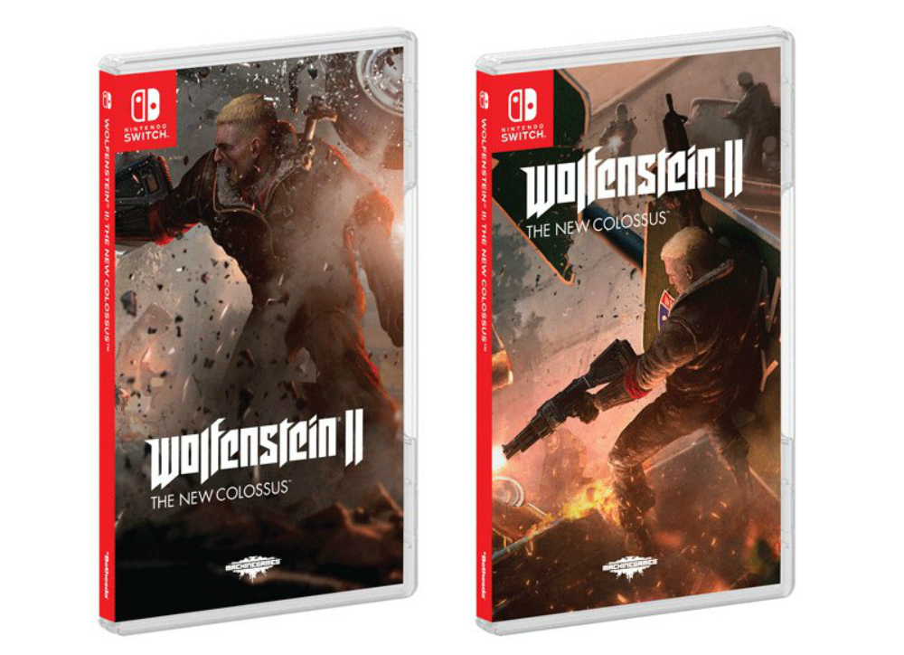 Wolfenstein II has alternate box art options on Switch screenshot