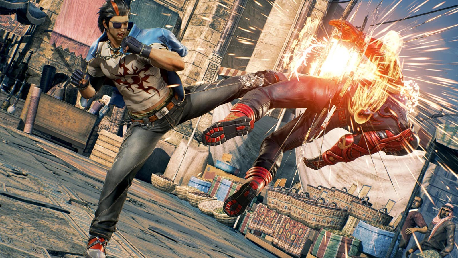 Tekken 7 celebrates its first anniversary with free DLC screenshot