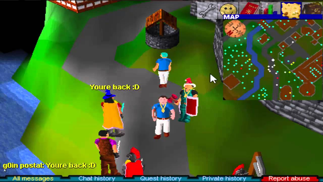 RuneScape Classic will be shutting its servers down in August screenshot