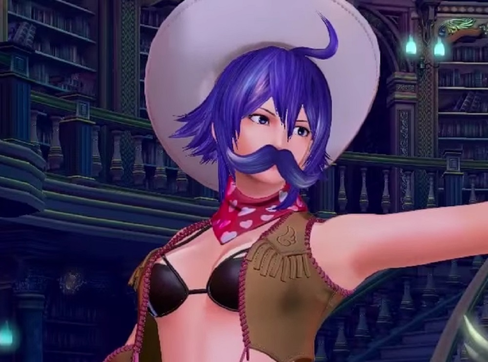 (Update) New SNK Heroines trailers showcase customisation and Love Heart's moustache screenshot