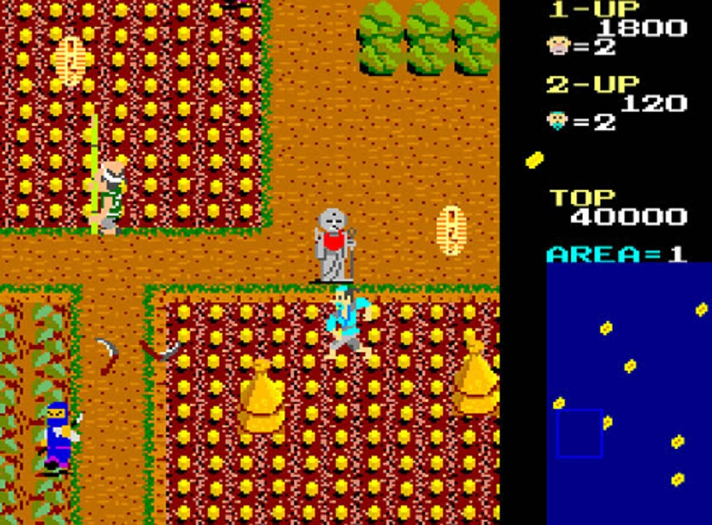 Arcade Archives goes obscure this week with Ikki for Nintendo Switch screenshot