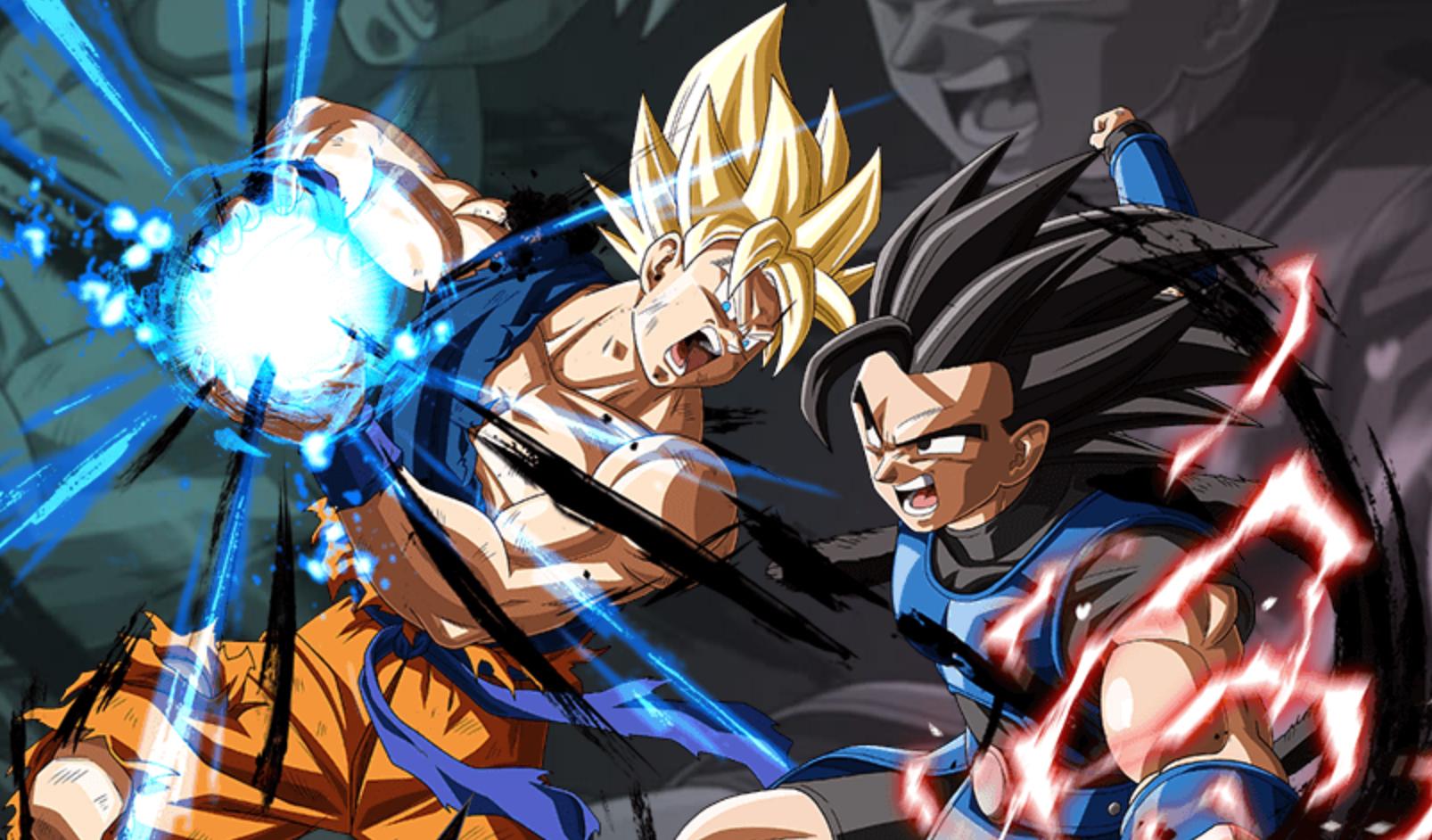 Dazzling presentation masks a pretty basic fighter in Dragon Ball Legends screenshot
