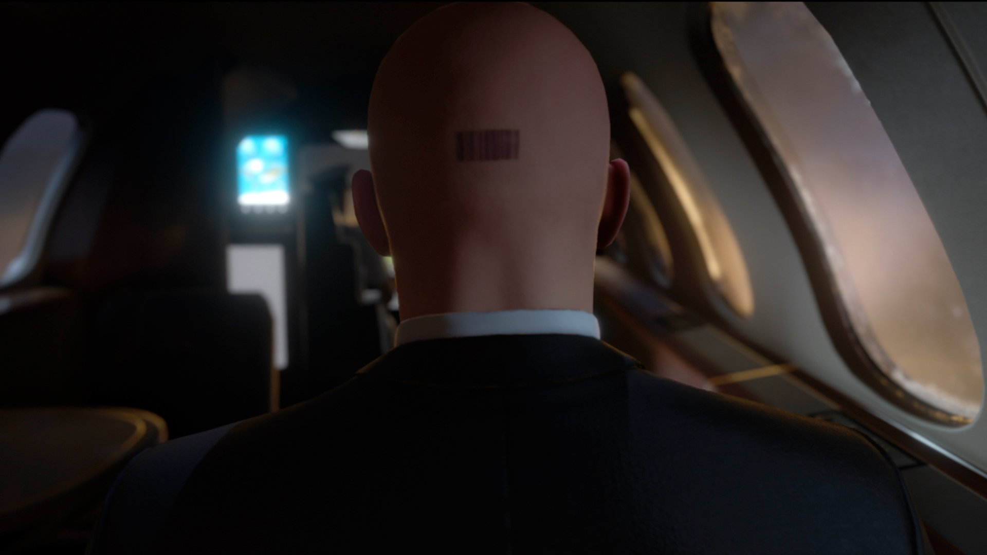 Agent 47 is bald because hair was just too difficult screenshot