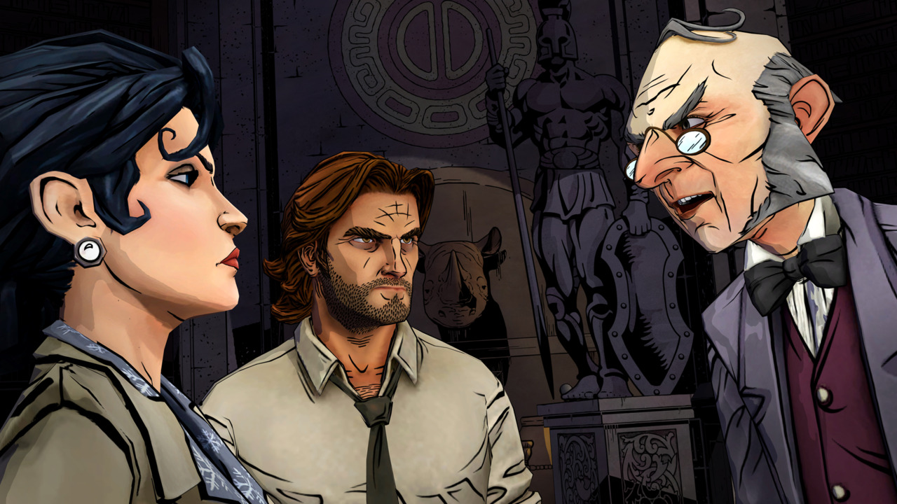 The fantastic The Wolf Among Us just caught a delay for its second season screenshot