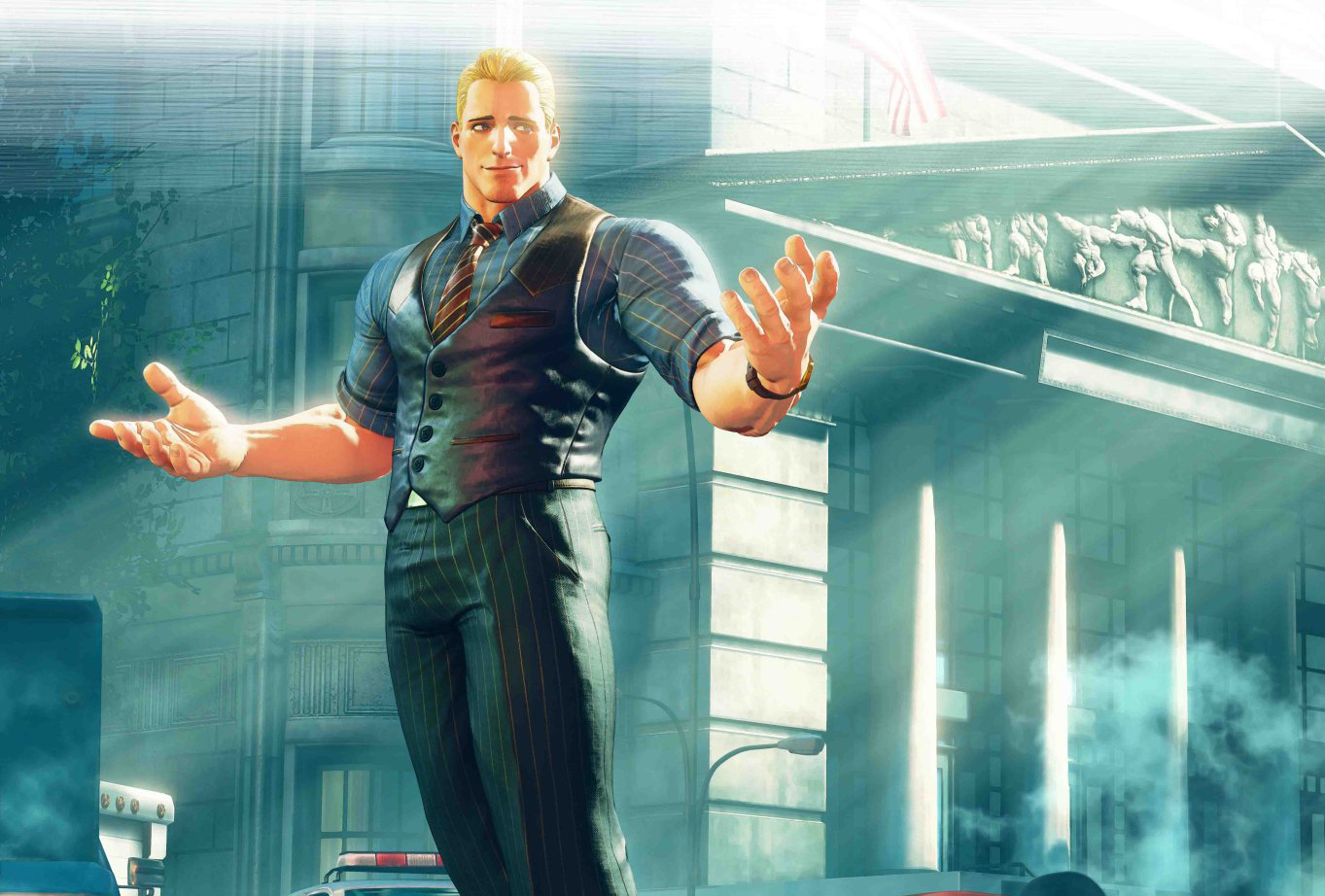 Cody looks thicc in Street Fighter V: Arcade Edition screenshot