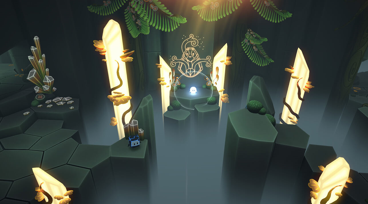 Pode is a feel-good co-op adventure that works great on the Switch screenshot