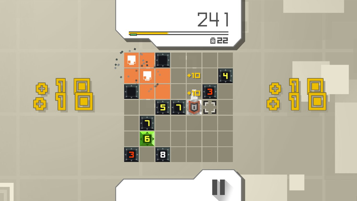 PyroMind is a frantic puzzle game about defusing bombs screenshot