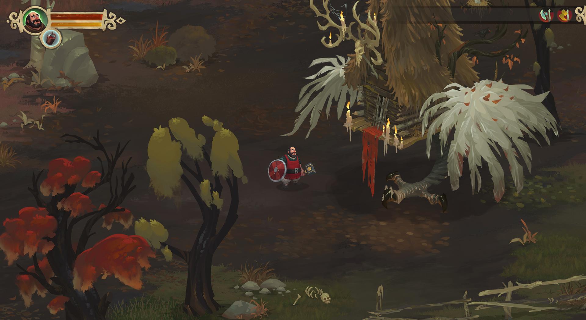 Yaga is a charming action-RPG take on Slavic folklore screenshot