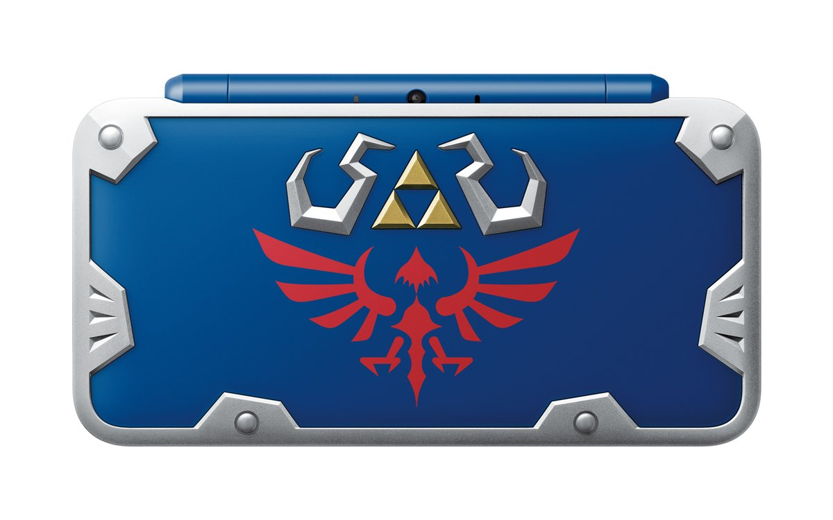 Nintendo and GameStop releasing a very handsome Zelda New 2DS XL screenshot