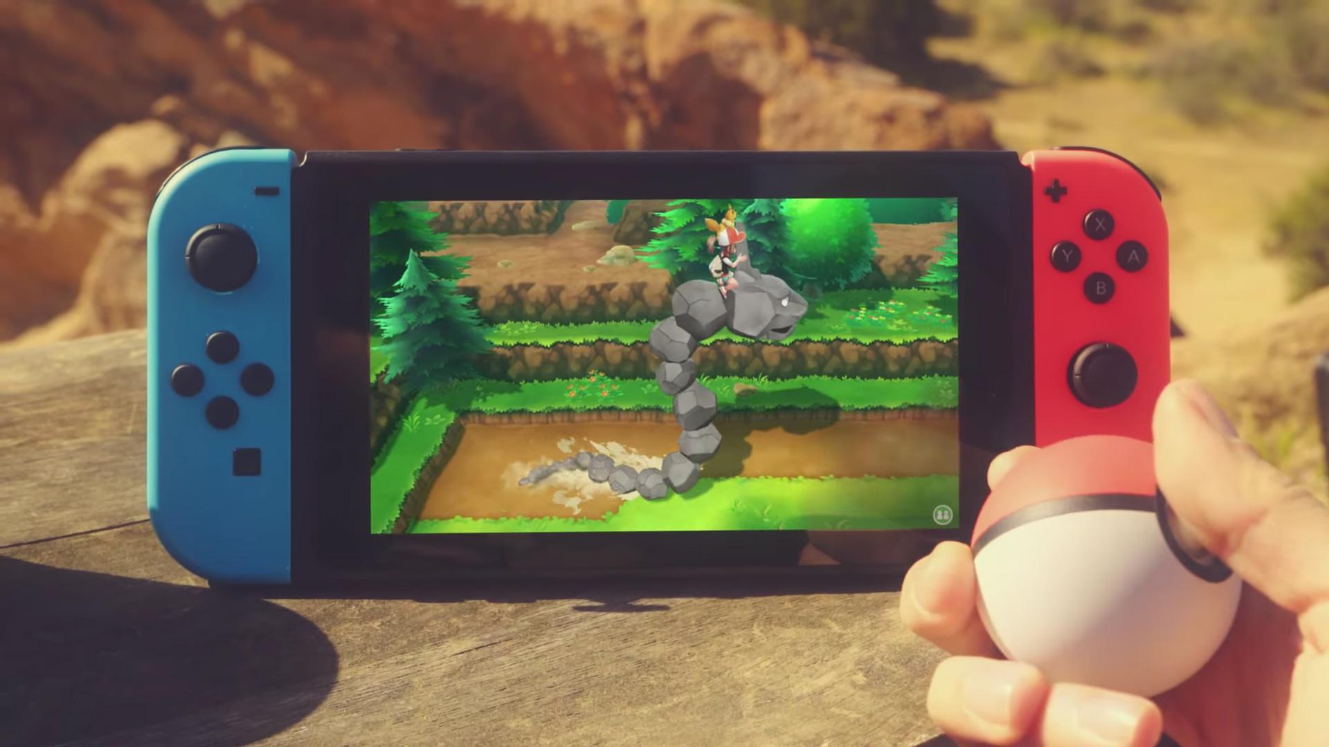 Multiple new Pokemon games revealed for Switch screenshot