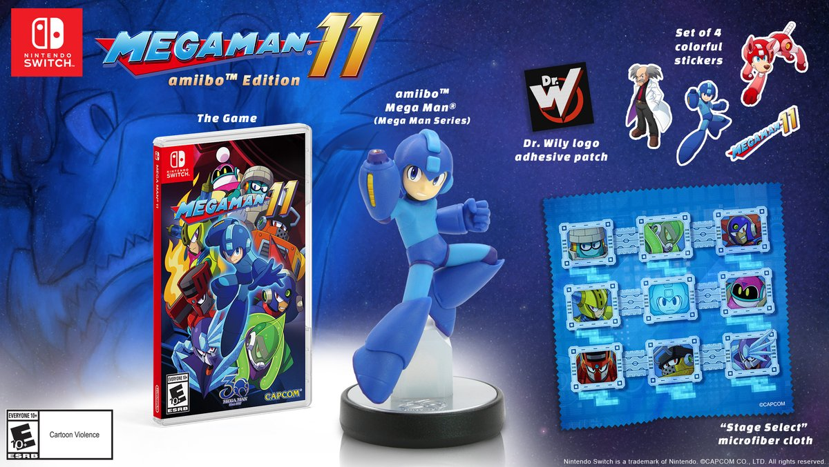 That Mega Man 11 amiibo is a GameStop exclusive in the US, is sold out screenshot