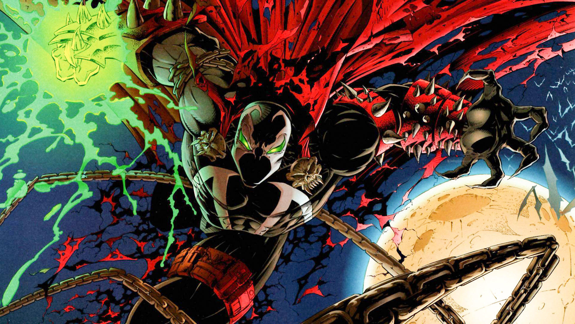 Jamie Foxx will play Spawn, upgrading his comic roles from The Abysmal Spider-Man
