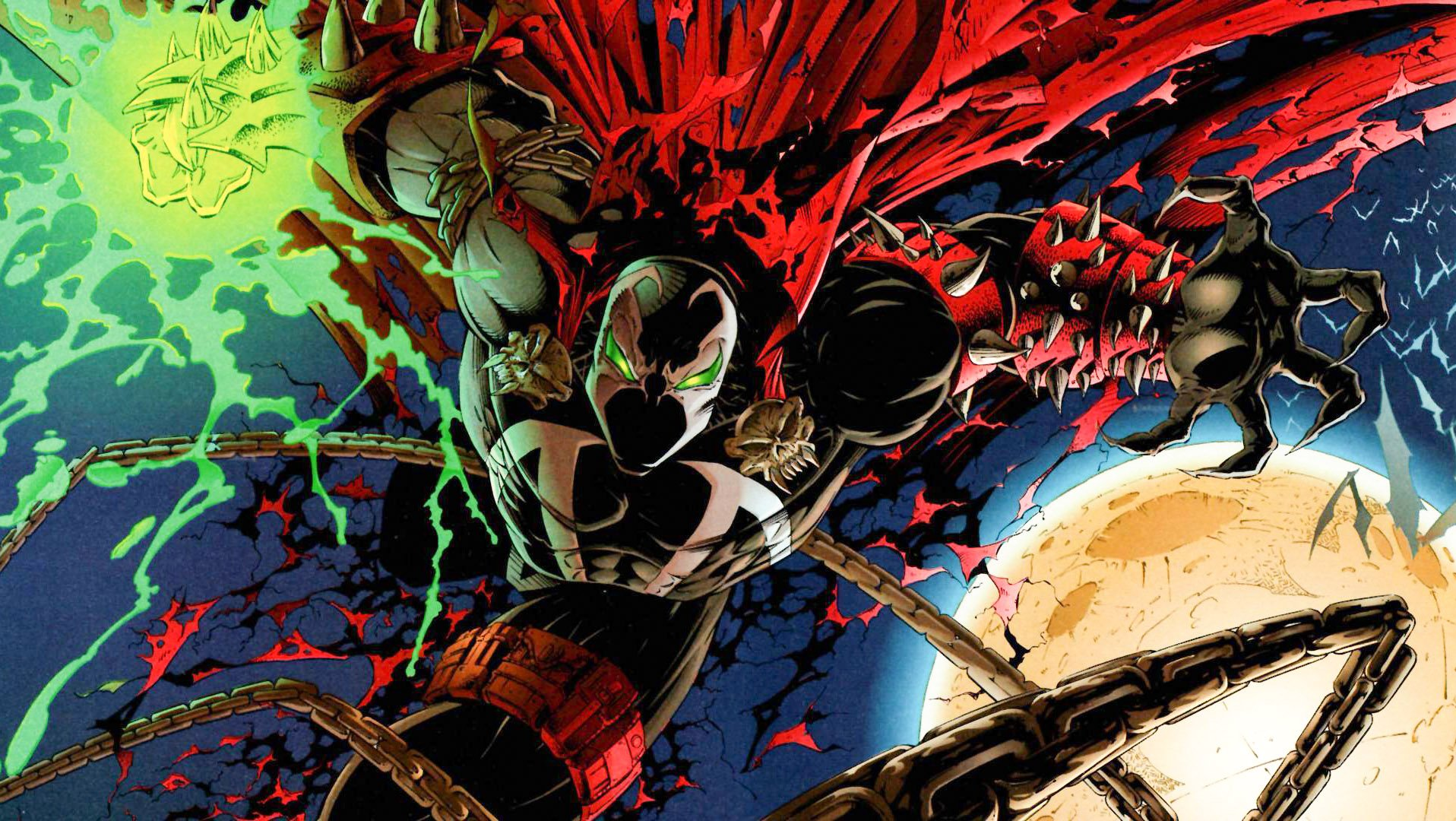 Jamie Foxx will play Spawn, upgrading his comic roles from The Abysmal Spider-Man screenshot