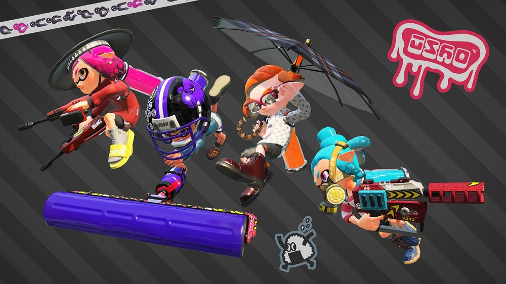 Nintendo Japan details Splatoon 2's June weapons drop screenshot
