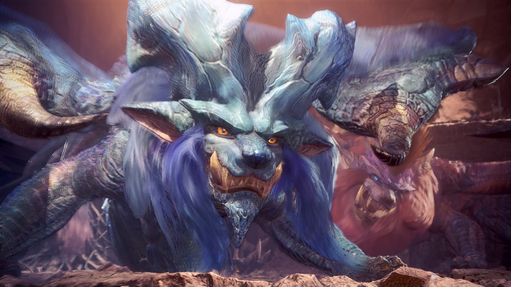 Free Monster Hunter: World update brings about Lunastra: Empress of Flame screenshot