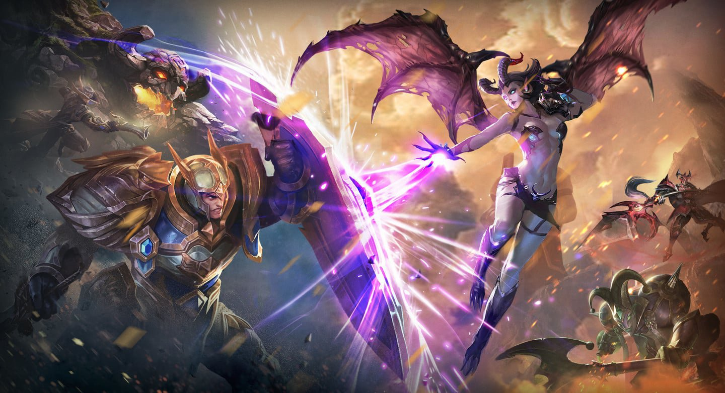 Mobile MOBA mega-hit Arena of Valor getting a closed beta on Switch screenshot