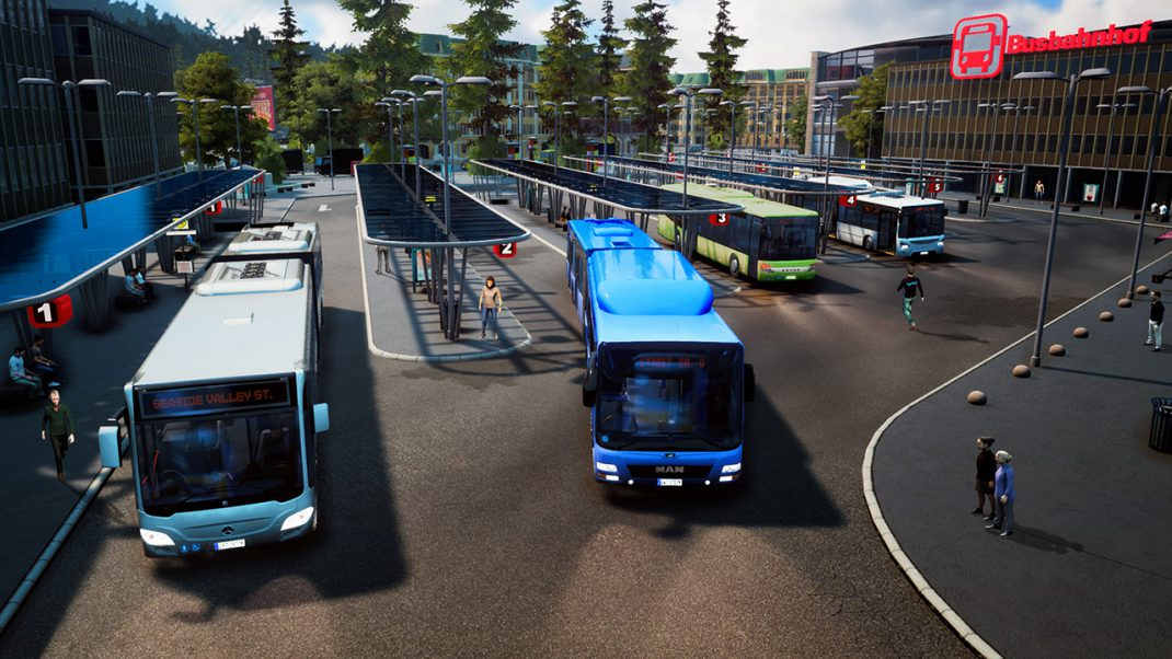 Bus Simulator 18 has a multiplayer mode that sounds rad screenshot