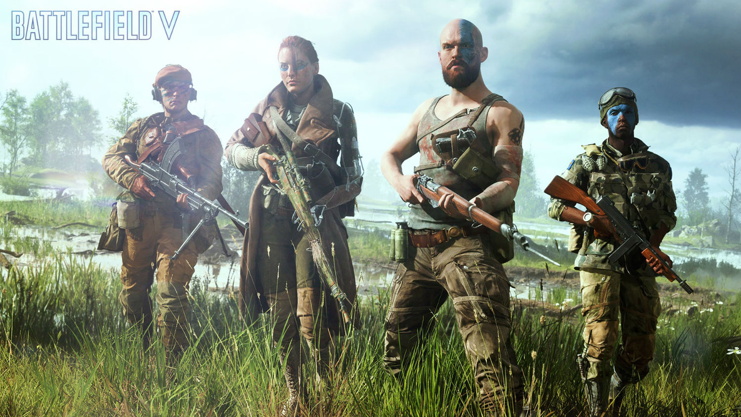 EA informally reveals Battlefield V's Airborne mode screenshot