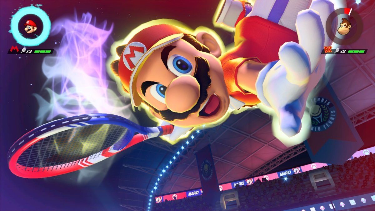 Mario Tennis Aces' tournament demo is now live screenshot