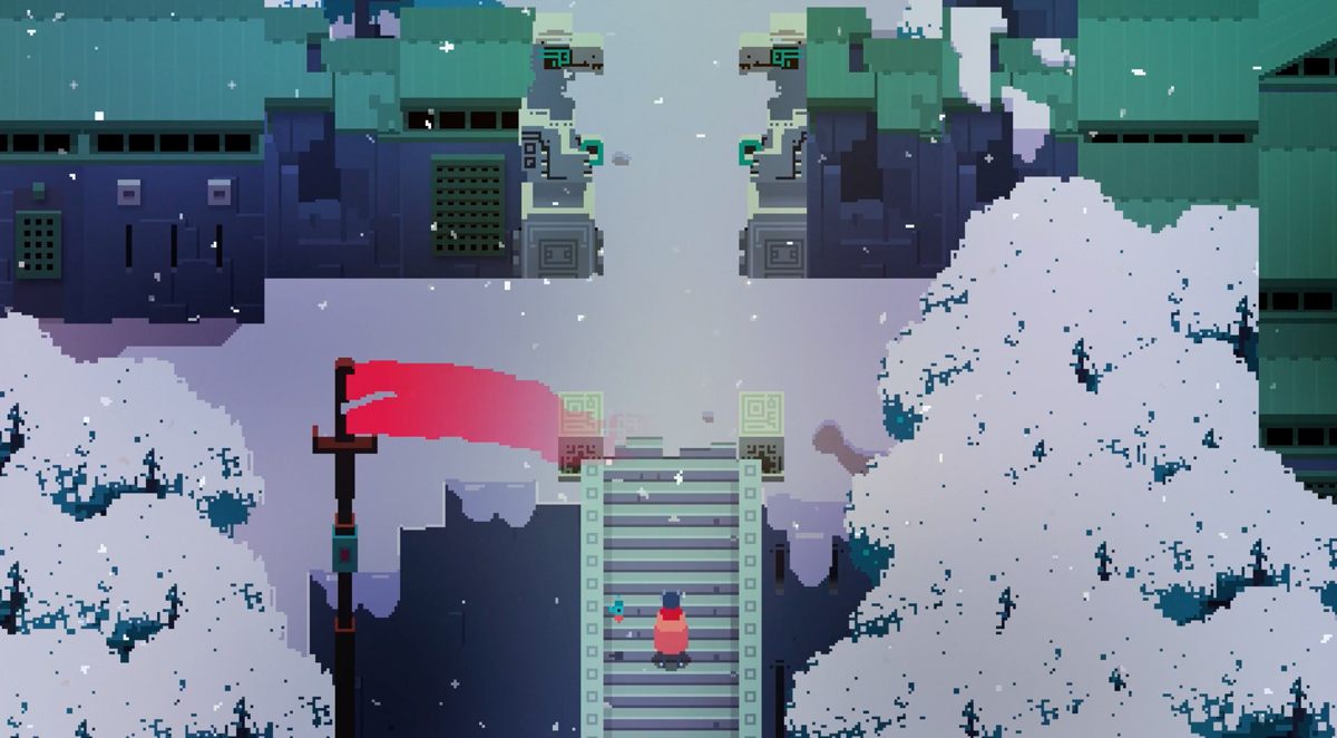 Hyper Light Drifter on Switch is the way it was meant to be