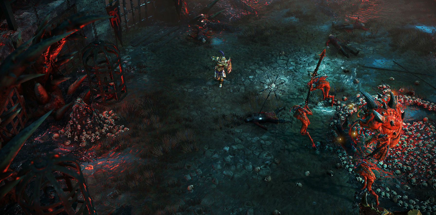 The next Warhammer game, Chaosbane, is a Diablo-esque action RPG for PC and consoles screenshot