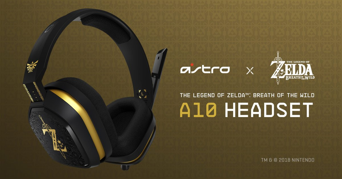 Nintendo and Astro partner up for a new headset line, starting with Zelda screenshot