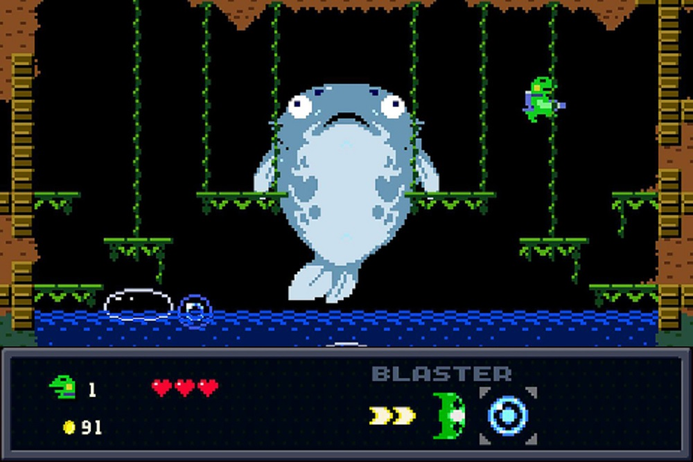 Kero Blaster is hopping over to Switch this summer screenshot