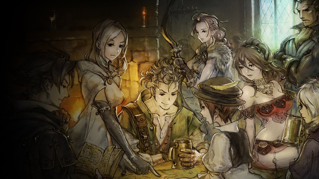 Octopath Traveler gets some GameStop exclusive pre-order goodies screenshot