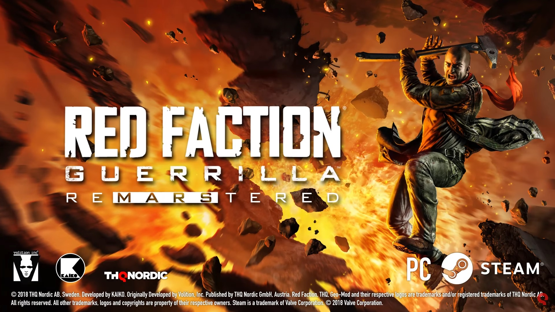 Red Faction Guerrilla Re-Mars-tered welcomes you back to Mars this July screenshot