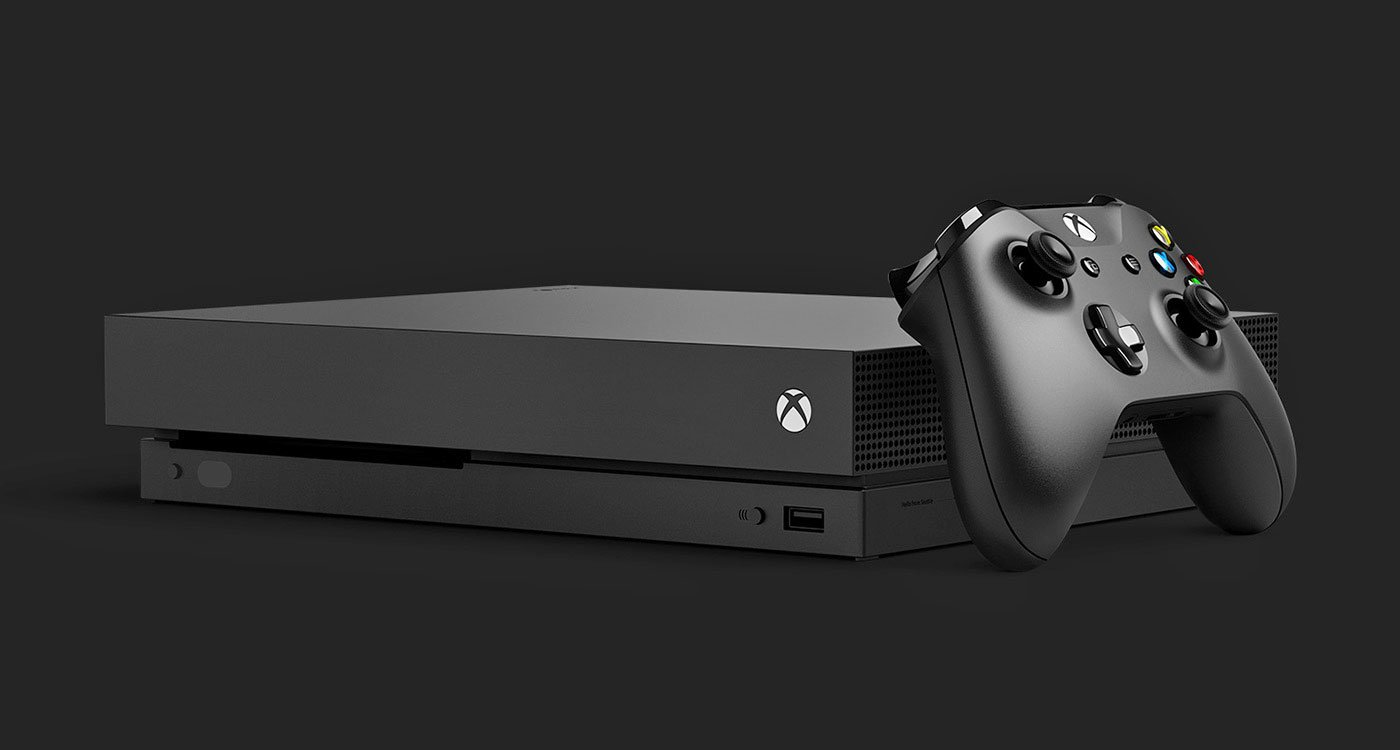 Xbox One X gets its first ever official sale screenshot