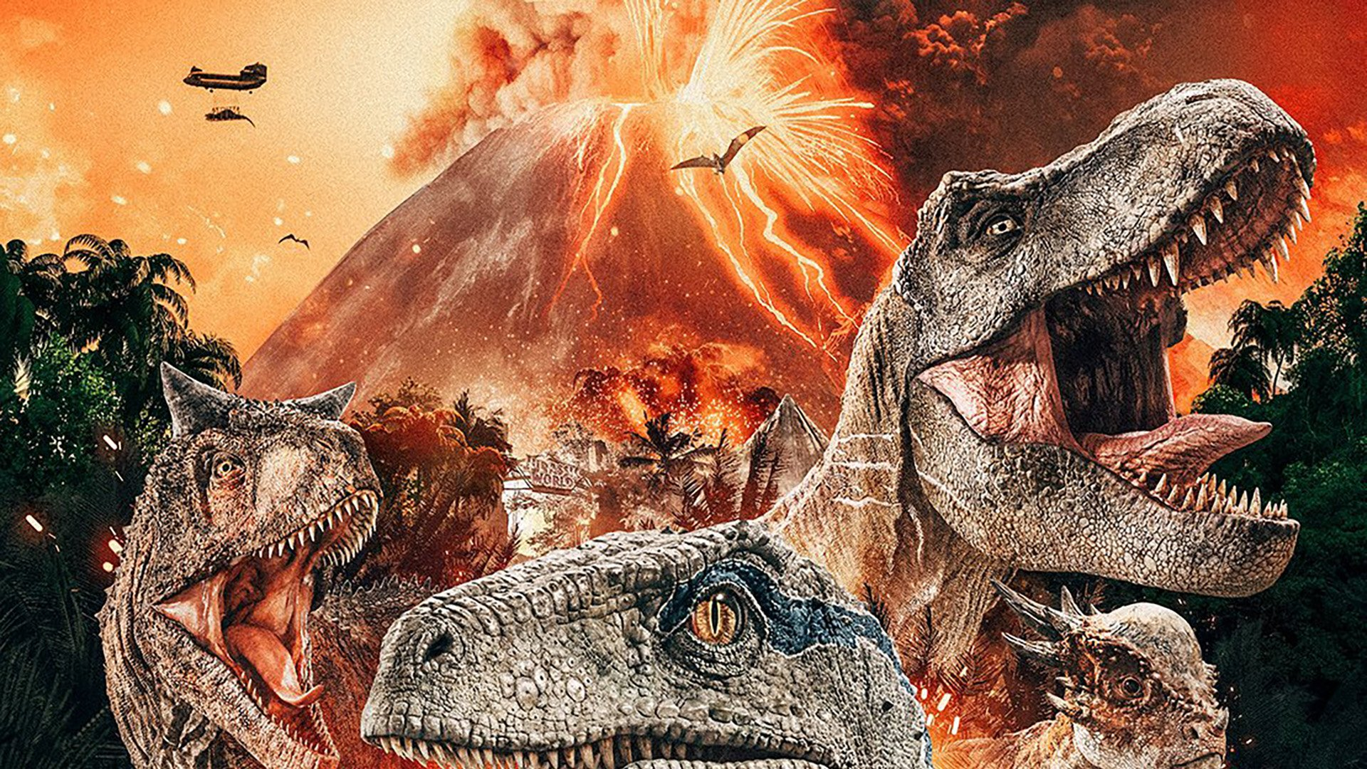 Jurassic World Fallen Kingdom Poster Has Dinosaurs Is A Clusterf K