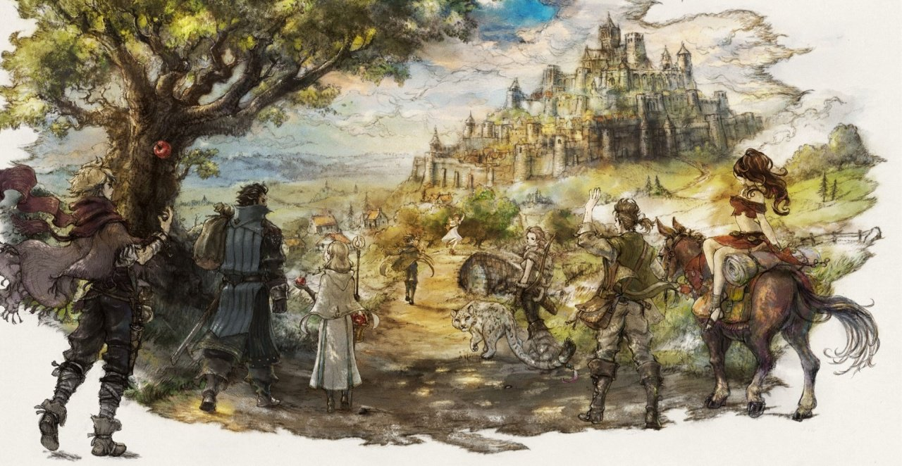 Square Enix using Octopath Traveler to test the Switch market screenshot