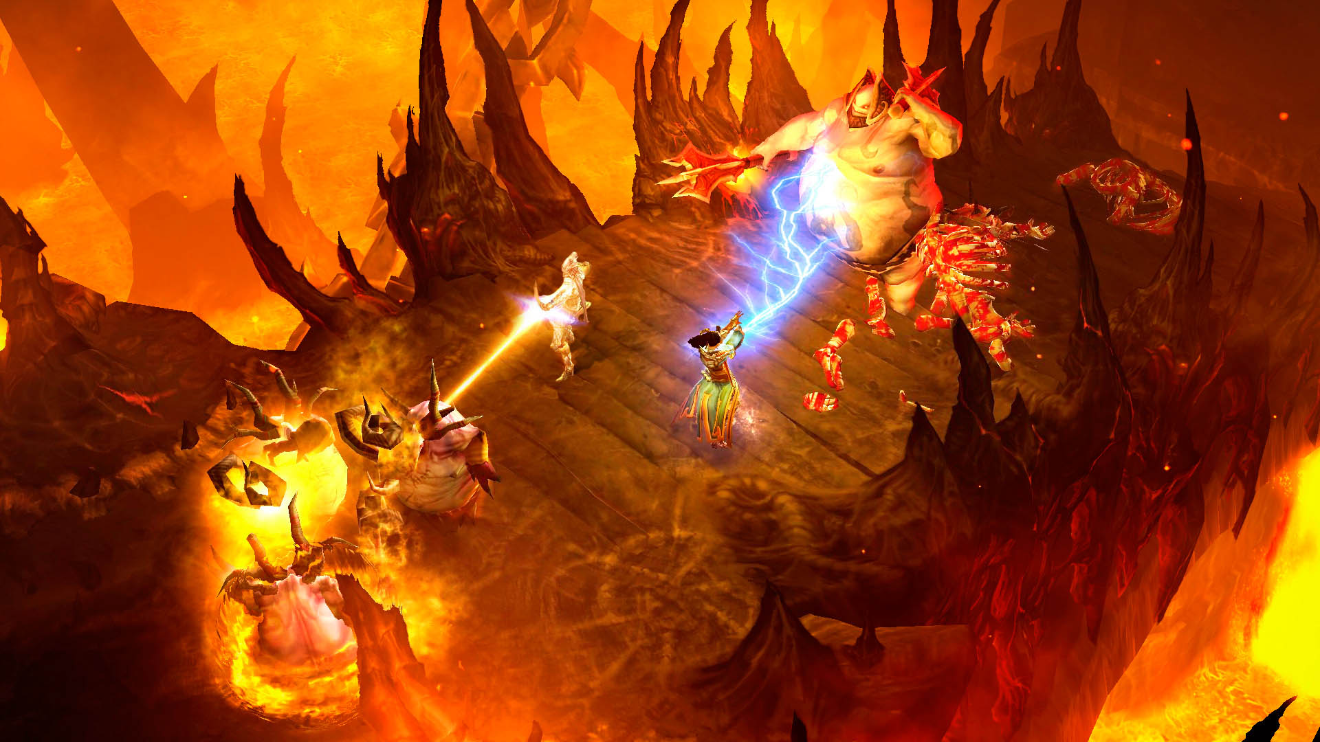 Blizzard's hiring for an unannounced Diablo project screenshot