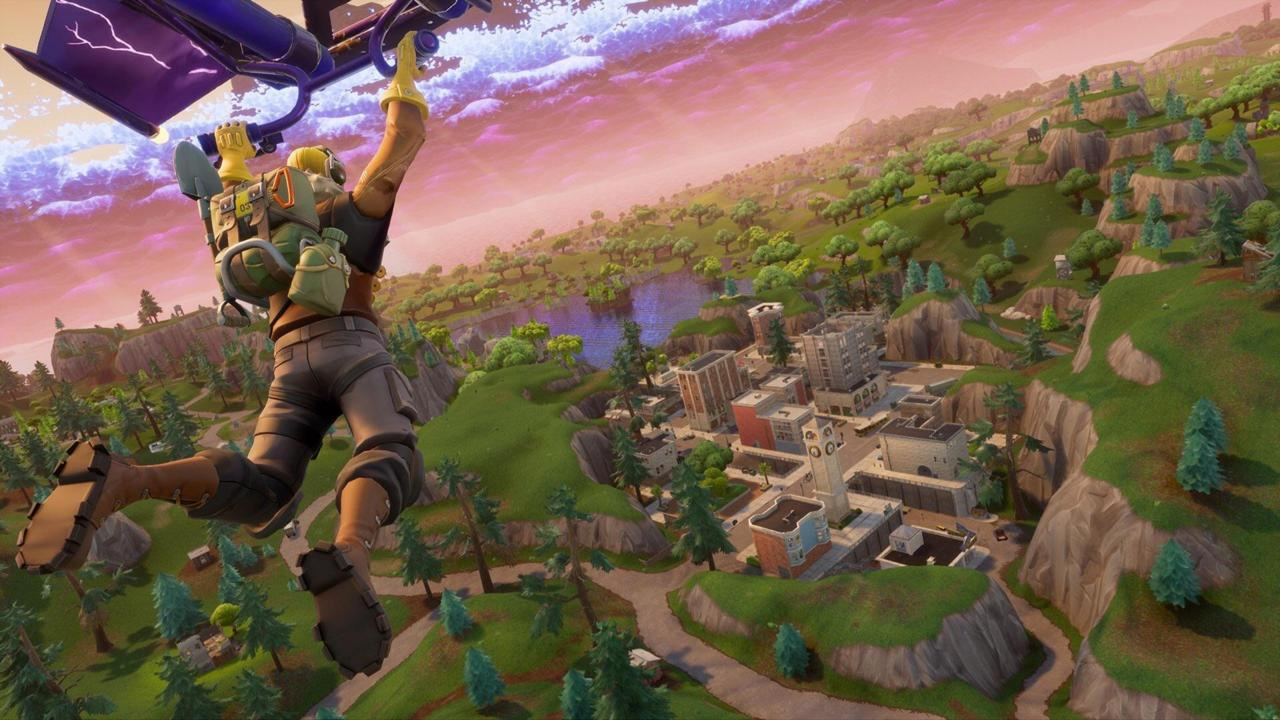 Fortnite referenced in Nintendo Switch eShop update screenshot