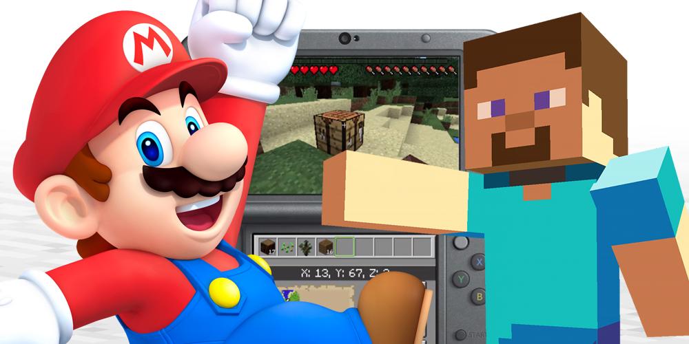 Minecraft on New Nintendo 3DS is finally worth buying screenshot