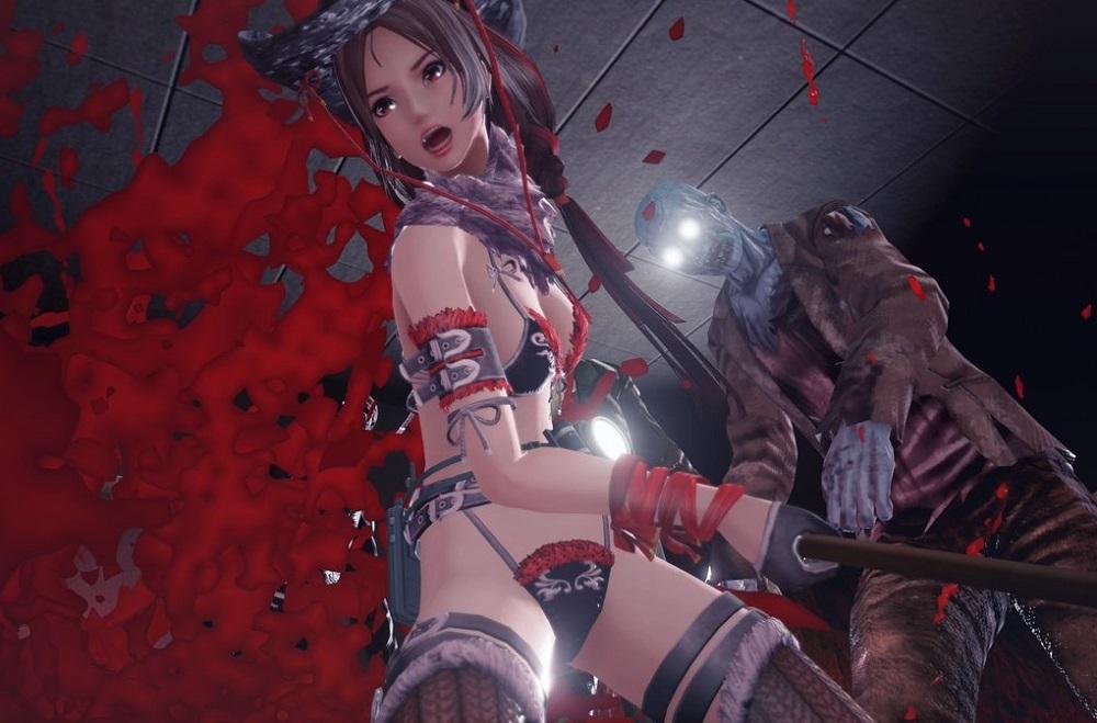 School Girl/Zombie Hunter throws its pants at Steam screenshot