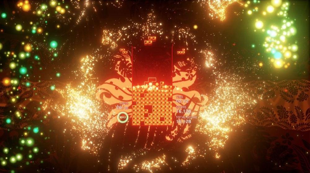 Sony reveals a Lumines looking Tetris Effect during a pre-E3 stream screenshot