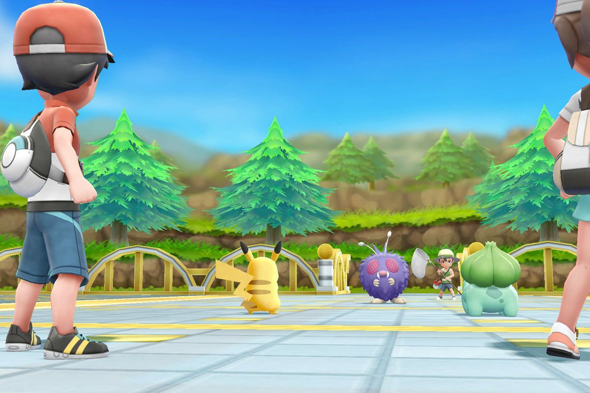 The Pokemon Company explains just how much motion will be required to play Pokemon Let's Go screenshot