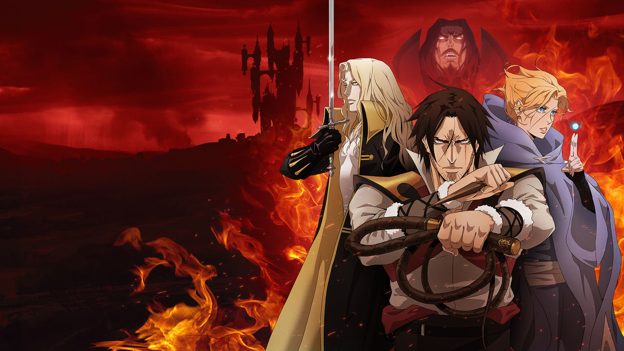 The lead of Netflix's Castlevania show says that there's going to be a third season screenshot
