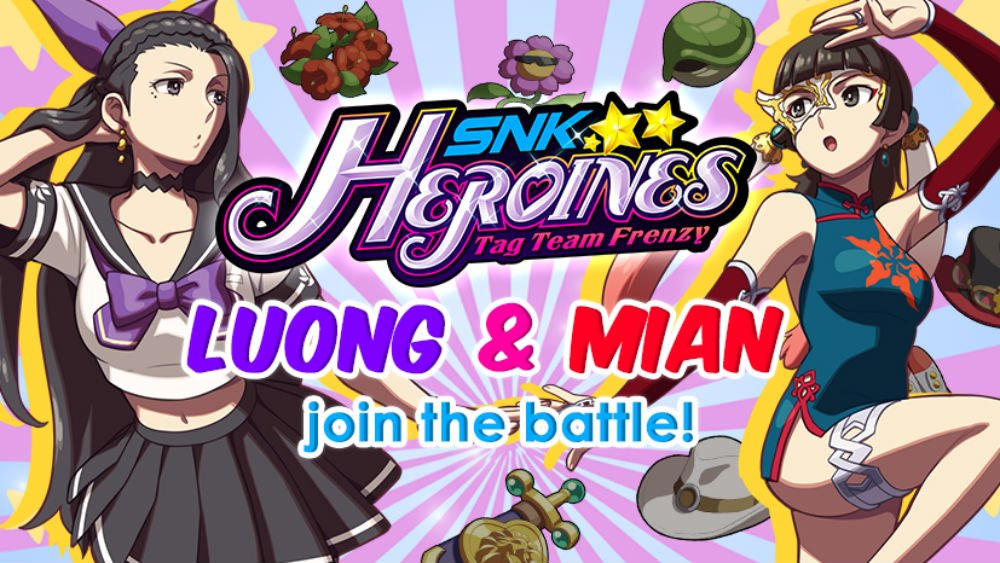 Vibrant fighter SNK Heroines is adding Mian and Luong into the mix screenshot