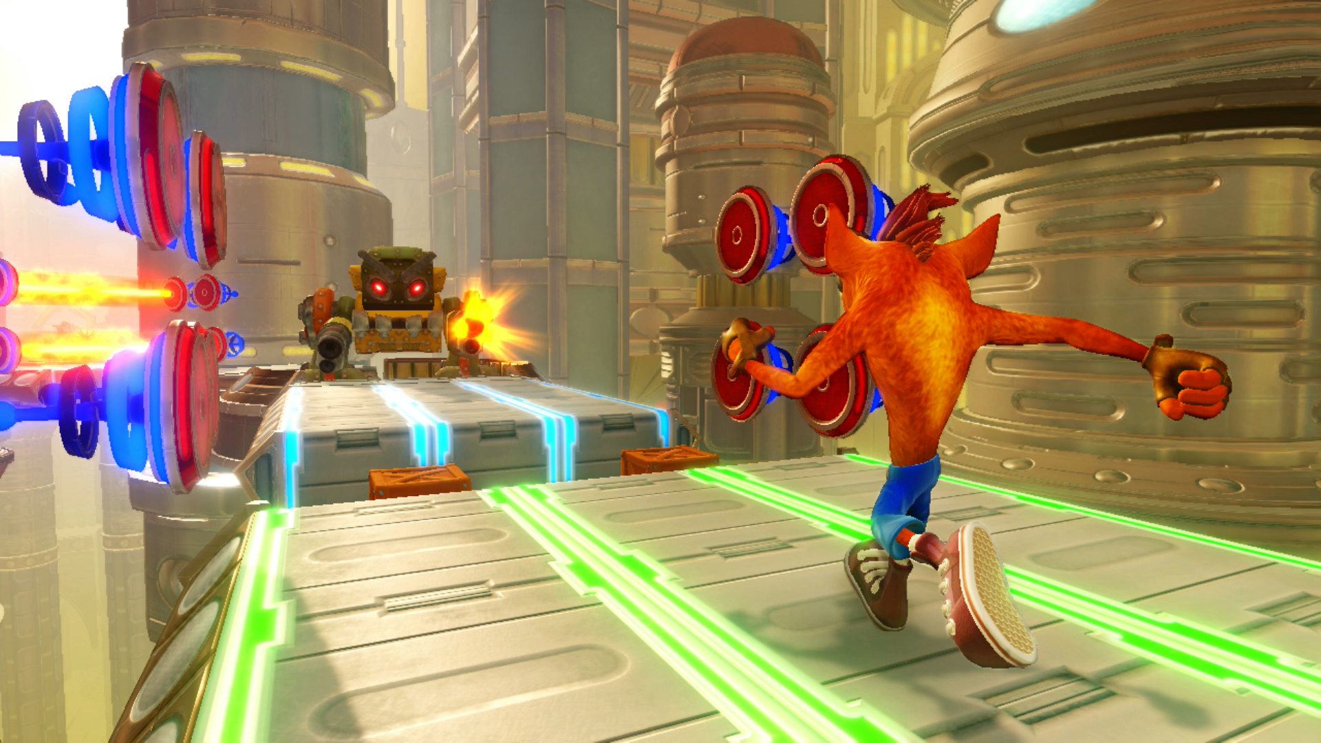 Crash Bandicoot N. Sane Trilogy looks amazing in 4K and on Switch screenshot