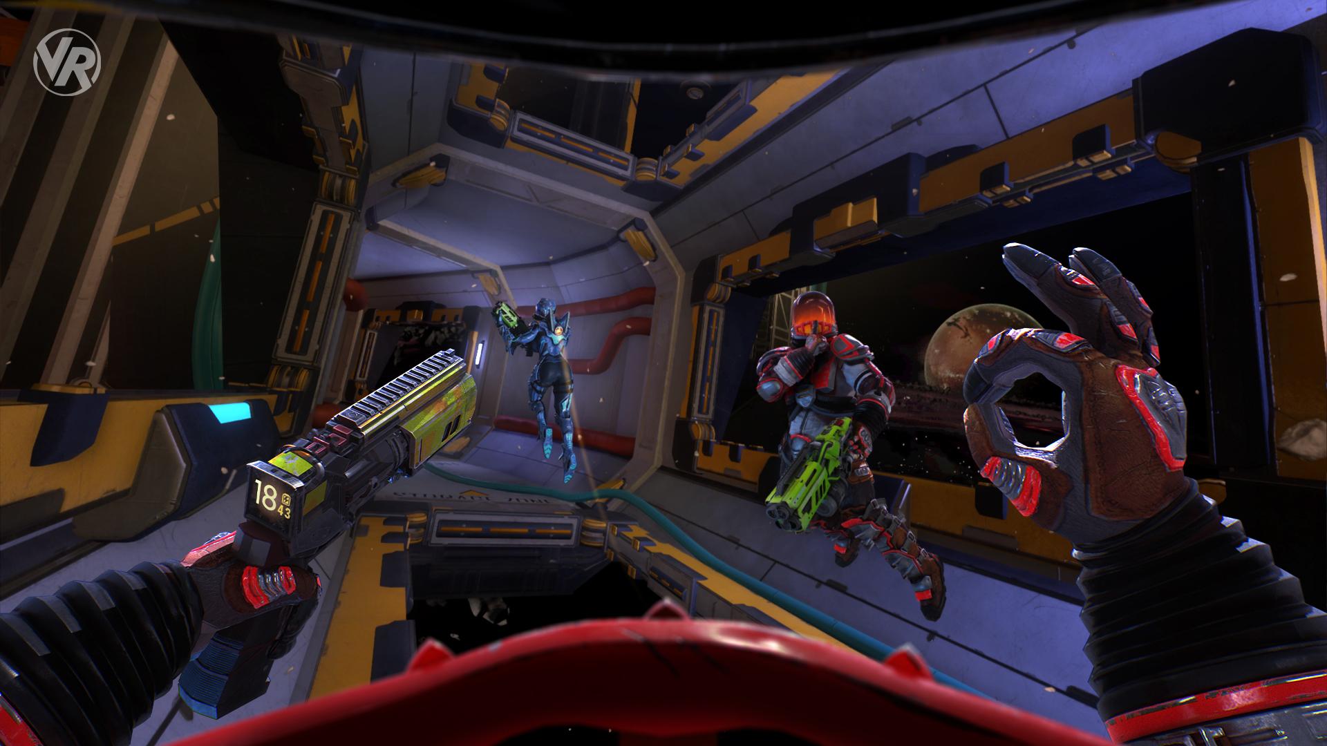 Ubisoft's VR shooter Space Junkies gets an open beta on June 28 screenshot