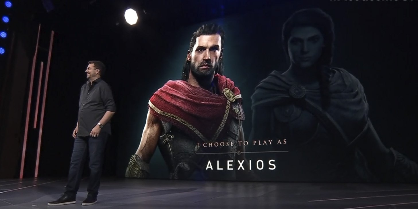 Assassin S Creed Odyssey Will Feature Two Playable Characters
